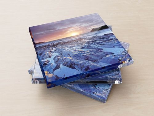 Abereiddy Beach, Wales - Glass Coasters